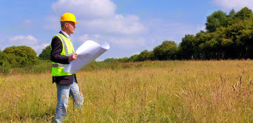 During preconstruction, Peak Steel Contractors handle the surveying.