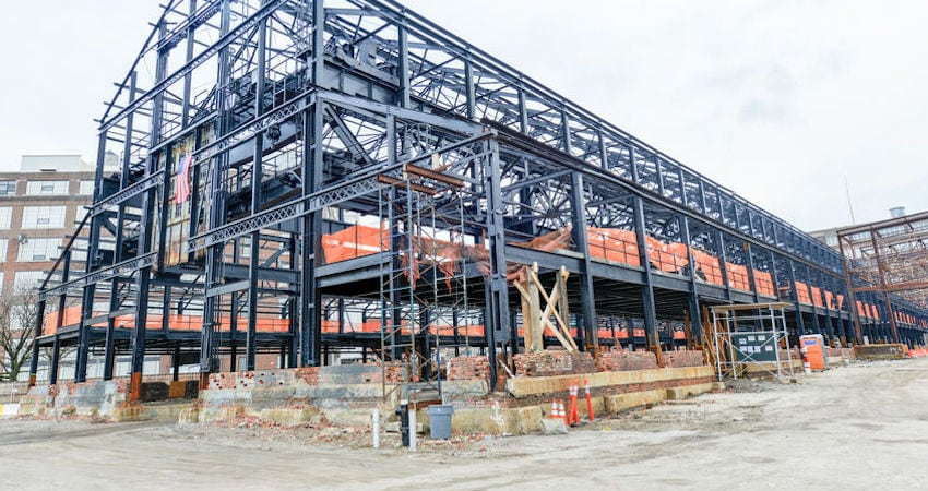 reconstruction phase in steel construction